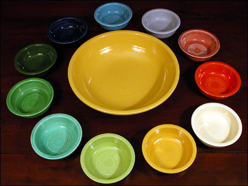 Identification And Information On Vintage Fiesta Pottery Fiestaware